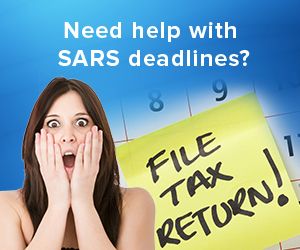 SARS Deadlines - help with tax reminders
