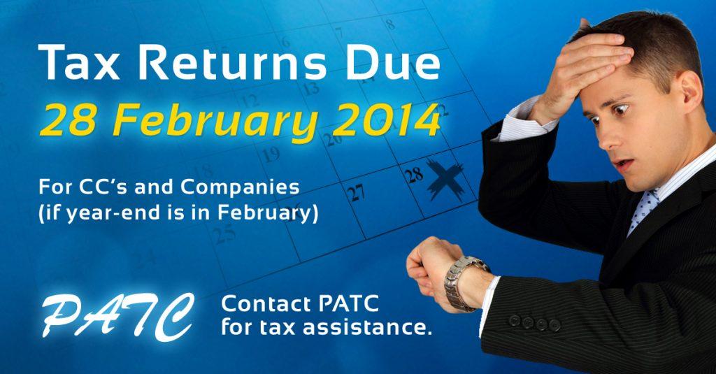Tax Returns Due
