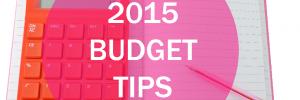 2015 Budgeting tips