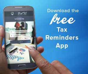 Download the free App - tax reminders
