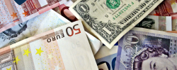 various world currency notes
