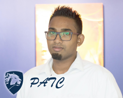 photograph of Chris Naidoo from PATC